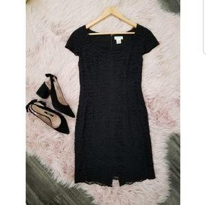 NWOT Ann Taylor Business Professional Black Dress